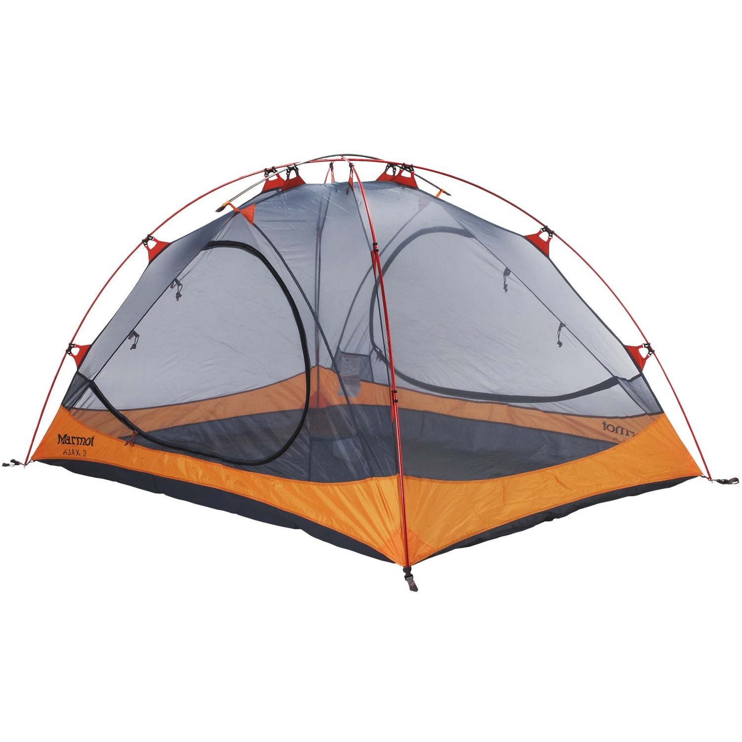 Marmot Ajax 3 Tent - 3-Person 3-Season in Pale Pumpkin/  sc 1 st  Sierra Trading Post : marmot tents clearance - memphite.com