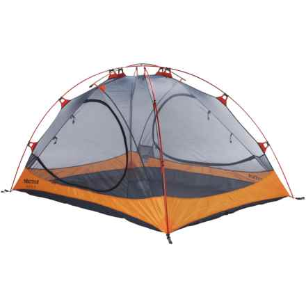 Marmot Ajax 3 Tent - 3-Person, 3-Season in Pale Pumpkin/Terracotta - Closeouts