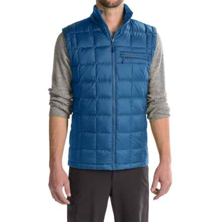 Marmot Ajax Down Vest - 600 Fill Power (For Men) in Blue Night - Closeouts