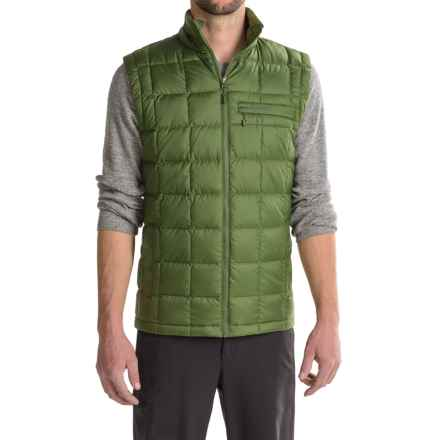 Marmot Ajax Down Vest - 600 Fill Power (For Men) in Greenland - Closeouts