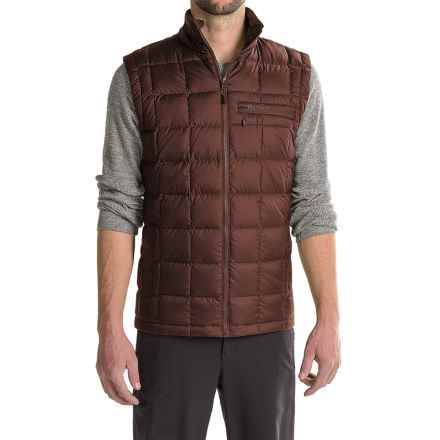 Marmot Ajax Down Vest - 600 Fill Power (For Men) in Marsala Brown - Closeouts