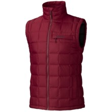 Marmot Ajax Down Vest - 700 Fill Power (For Men) in Brick - Closeouts