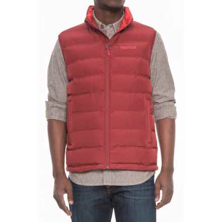 Marmot Alassian Featherless Vest - Insulated (For Men) in Brick - Closeouts