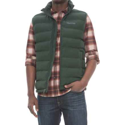 Marmot Alassian Featherless Vest - Insulated (For Men) in Dark Spruce - Closeouts