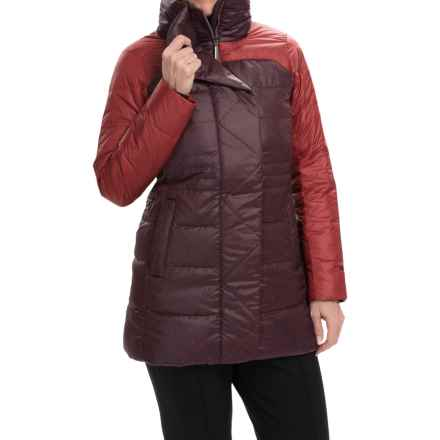 Marmot Alderbrook Down Parka - 700 Fill Power (For Women) in Dark Crimson - Closeouts