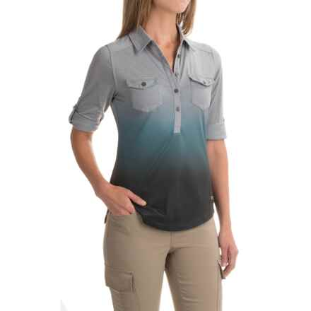 Marmot Allie Henley Shirt - UPF 20, Long Sleeve (For Women) in Grey Storm - Closeouts