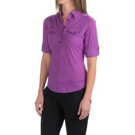 Marmot Allie Shirt - UPF 20, Long Sleeve (For Women) in Vibrant Fuchsia - Closeouts