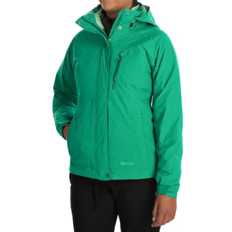 Marmot Alpen Component Jacket Waterproof, 3 in 1 (For Women)
