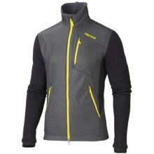 Marmot Alpha Pro Polartec® Jacket - Insulated (For Men) in Slate Grey/Black - Closeouts