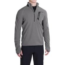 Marmot Alpinist Fleece Shirt - Zip Neck (For Men) in Cinder/Slate Grey - Closeouts