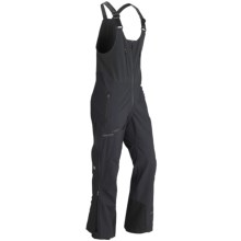 Marmot Alpinist Gore-Tex® Bib Pants - Waterproof (For Men) in Black - Closeouts