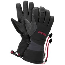 Marmot Alpinist Gore-Tex® XCR® Gloves - Waterproof, Insulated (For Men) in Black - Closeouts