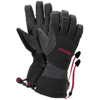 Marmot Alpinist Gore-Tex® XCR® Gloves - Waterproof, Insulated (For Men) in Black