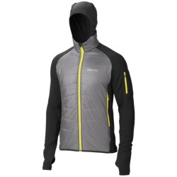 Marmot Alpinist Hybrid Jacket - Polartec® Power Stretch®, Insulated (For Men) in Cinder