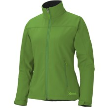 Marmot Altitude Jacket - M2 Soft Shell (For Women) in Dark Grass - Closeouts