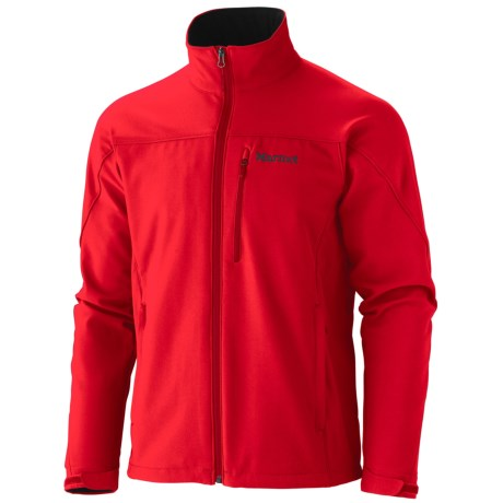 Marmot Altitude Soft Shell Jacket (For Men) in Team Red