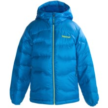 Marmot Ama Dablam Down Jacket - 650 Fill Power (For Boys) in Methyl Blue - Closeouts