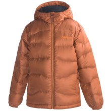 Marmot Ama Dablam Down Jacket - 650 Fill Power (For Boys) in Rust - Closeouts