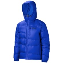 Marmot Ama Dablam Down Jacket - 800 Fill Power (For Men) in Dark Azure - Closeouts