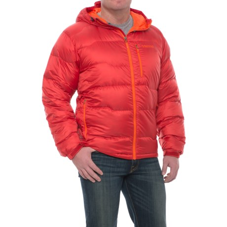 Marmot Ama Dablam Down Jacket - 800 Fill Power (For Men) in Team Red