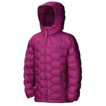 Marmot Ama Dablam Down Jacket - Insulated (For Girls) in Berry Rose - Closeouts