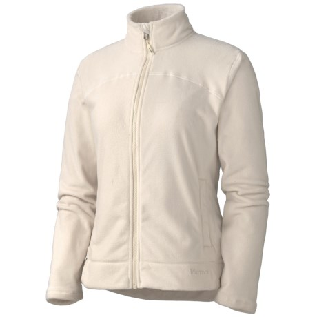 Marmot Ana Jacket - Fleece (For Women) in Turtle Dove