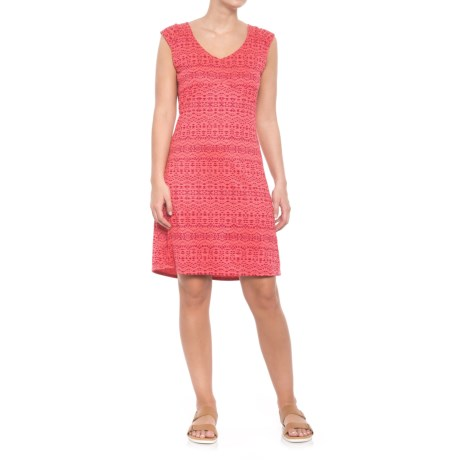 Marmot Annabelle Dress - UPF 50, Sleeveless (For Women) in Hibiscus Heather Sunfall
