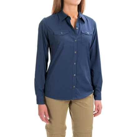 Marmot Annika Shirt - UPF 30, Long Sleeve (For Women) in Arctic Navy - Closeouts