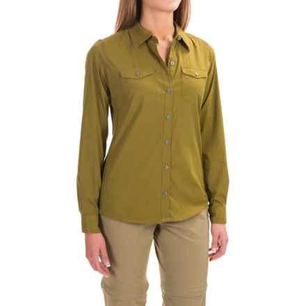 Marmot Annika Shirt - UPF 30, Long Sleeve (For Women) in Fir Green - Closeouts