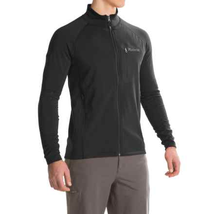 Marmot Ansgar Polartec® Power Stretch® Jacket (For Men) in Black - Closeouts