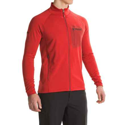 Marmot Ansgar Polartec® Power Stretch® Jacket (For Men) in Team Red - Closeouts