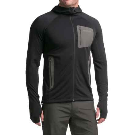 Marmot Ansgar Polartec® Power Stretch® Pro Hoodie (For Men) in Black - Closeouts
