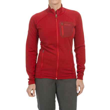 Marmot Ansgar Polartec® Power Stretch® Pro Jacket (For Women) in Team Red - Closeouts