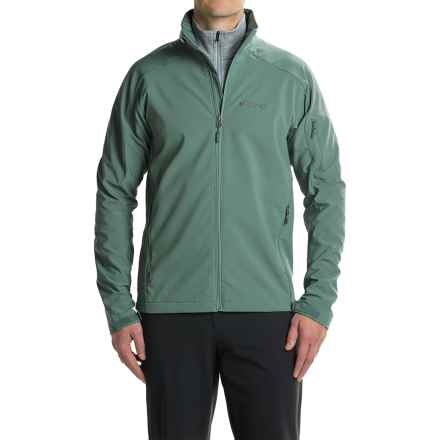Marmot Approach  Soft Shell Jacket (For Men) in Dark Mineral - Closeouts