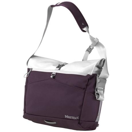 Marmot Arc Backpack in Aubergine/Glacier Grey