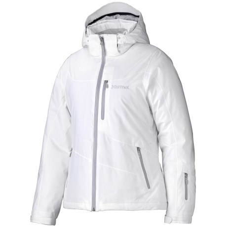 Marmot Arcs Jacket - Waterproof, Insulated (For Women) in White