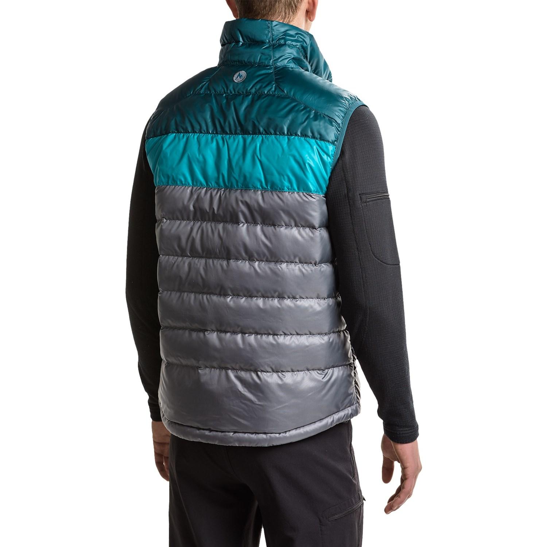 marmot guides down vest review