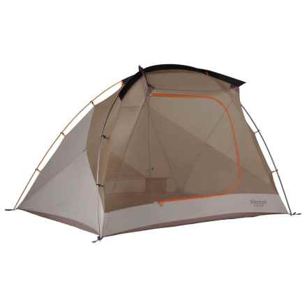 Marmot Argent 4P Tent with Footprint - 4-Person, 3-Season in Blaze/Sandstorm/Slate - Closeouts