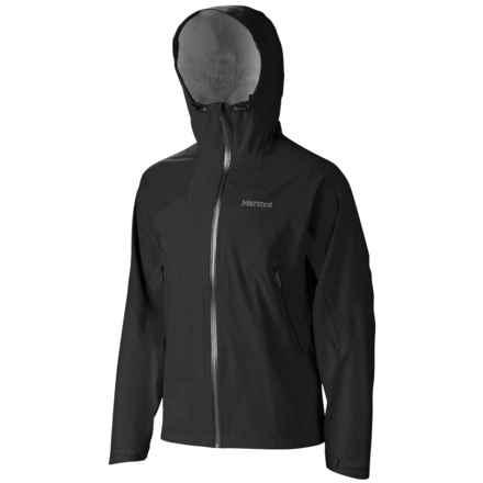 Marmot Artemis Jacket - Waterproof (For Men) in Black - Closeouts