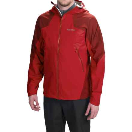 Marmot Artemis Jacket - Waterproof (For Men) in Team Red/Dark Crimson - Closeouts