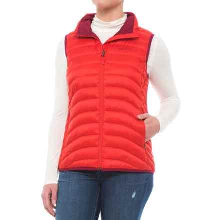 Marmot Aruna Down Vest - 600 Fill Power (For Women) in Tomato - Closeouts