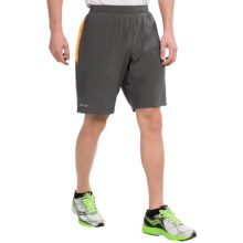 Marmot Ascend Shorts - UPF 30+, Built-In Liner (For Men) in Slate Grey/Orange Spice - Closeouts