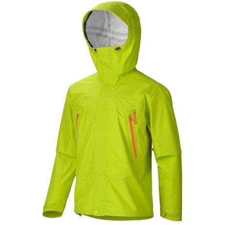 Marmot Ascension MemBrain® Jacket - Waterproof (For Men) in Green Lime