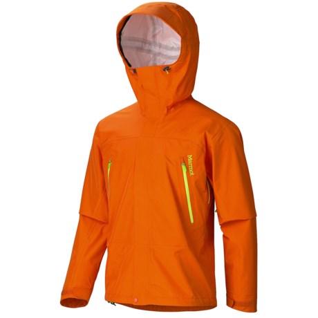 Marmot Ascension MemBrain® Jacket - Waterproof (For Men) in Green Lime