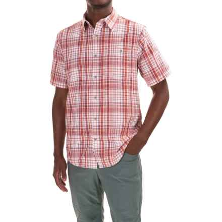 Marmot Asheboro Shirt - UPF 30, Short Sleeve (For Men) in Brick - Closeouts