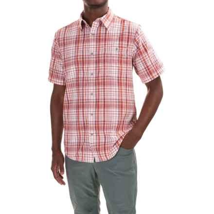 Marmot Asheboro Shirt - UPF 30, Short Sleeve (For Men) in Brick - Closeouts