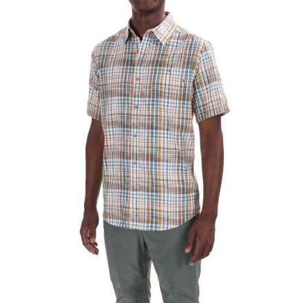 Marmot Asheboro Shirt - UPF 30, Short Sleeve (For Men) in Yellow Gold - Closeouts