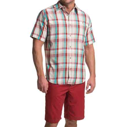 Marmot Asheboro Shirt - UPF 50, Short Sleeve (For Men) in Redstone - Closeouts