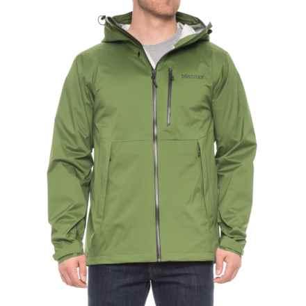 Marmot Asilomar Jacket - Waterproof (For Men) in Alpine Green - Closeouts