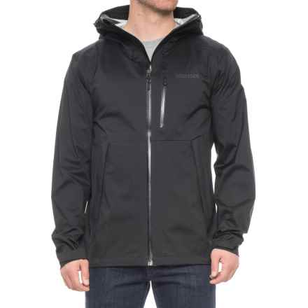 Marmot Asilomar Jacket - Waterproof (For Men) in Black - Closeouts